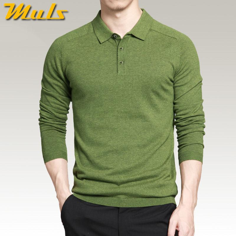 0d71b4fc2c9a0 2019 Mens Polo Sweaters Simple Style Cotton Knitted Long Sleeve Pullovers Big  Size 3xl 4xl Spring Autumn Muls Designer Polo From Netecool