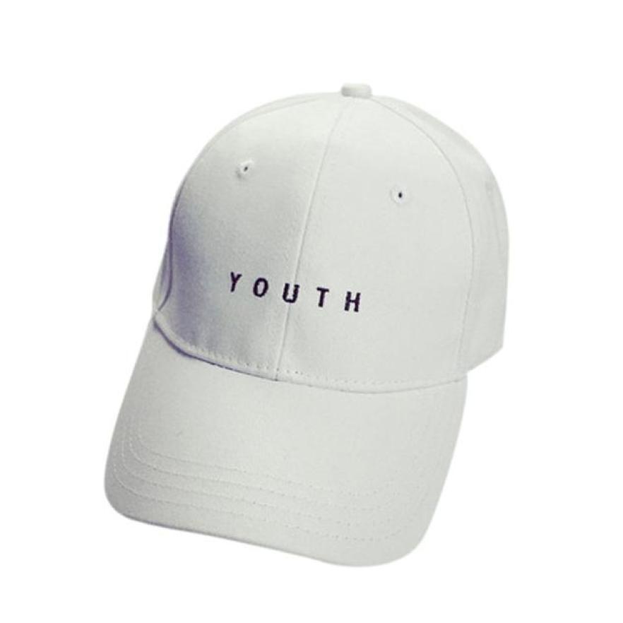 bbe700c5f96 Hat Summeryouth Letter Baseball Cap Hat Cap Casual Hip Hop Baseball ...