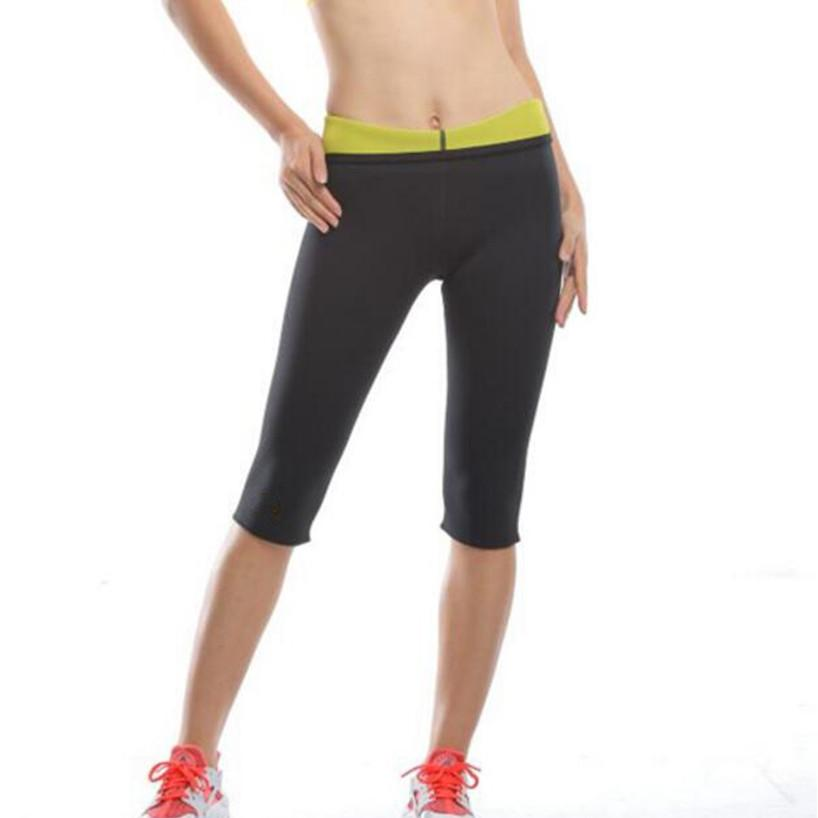 62d98e6ed2 2019 Women Thermal Slimming High Waist Capris Sport Shorts Girls 2018  Running Cycling Gym Yoga Shorts Ladies Fitness Plus Size From Bingquanwat,  ...