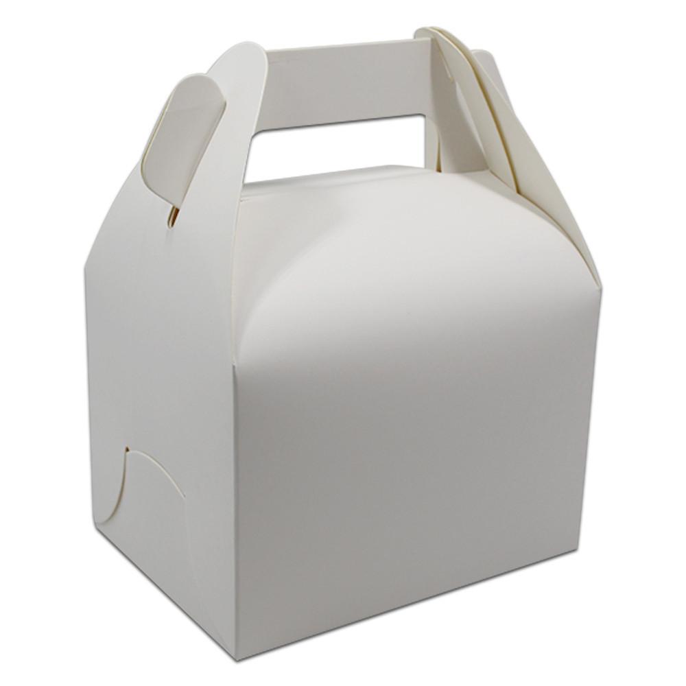 11.5*8.5*8cm Plain Blank White Bakery Gift Craft Box Wedding Party ...