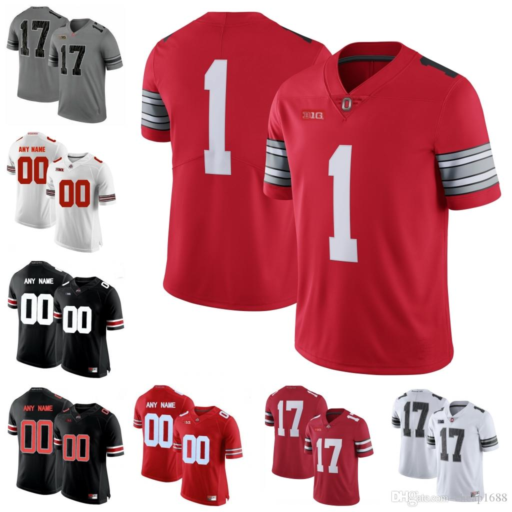 ee025e18bc5 2019 Ohio State Buckeyes #18 Tate Martell 83 Terry McLaurin 14 KJ Hill 46 Damon  Arnette 21 Parris Campbell Jr. Stitched College Football Jersey From ...