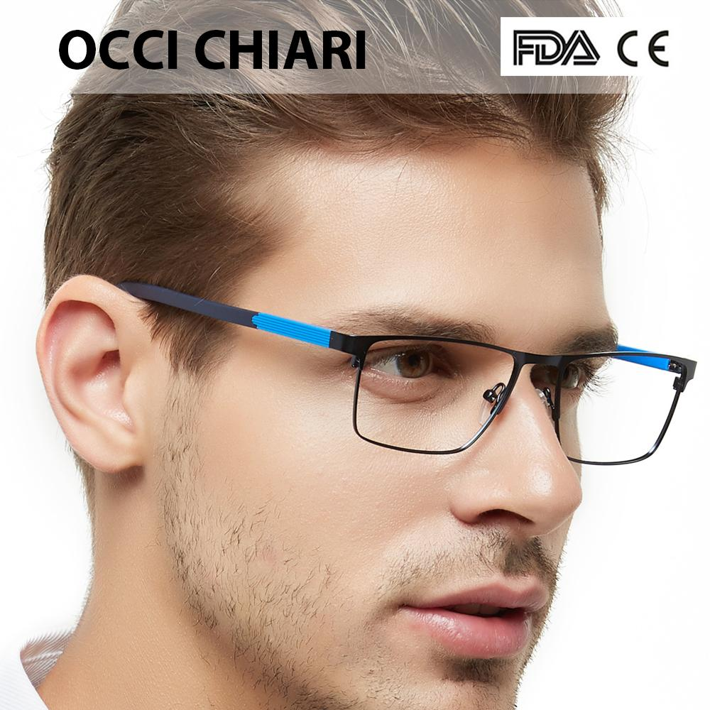 ad22c3691e 2019 OCCI CHIARI Men Glasses Frame Optical Eyeglasses Frames Clear Lens  Male Brand Vintage Glasses Spectacles Oculos De Grau W CRIFO From Alley66