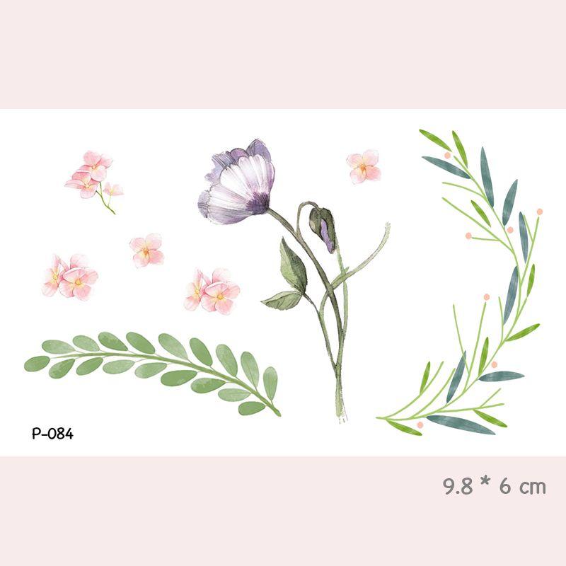 Acheter Wyuen Aquarelle Fleur Etanche Temporaire Tatouage