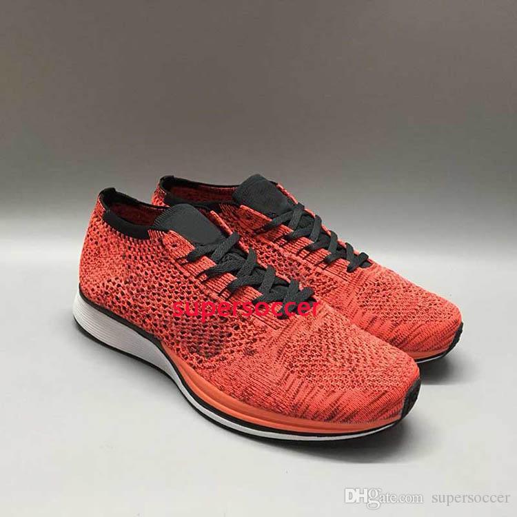 Atacado Homens Mulheres Casual Racers Running Shoes Treinador Chukka Preto Vermelho Azul Cinza Leve Respirável Andando Sapatilhas Sapatos Esportivos