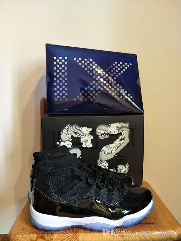 Bred 11s Concord Space Jam Win like 82 96 Basketball Shoes with Box ... 2482daa0d