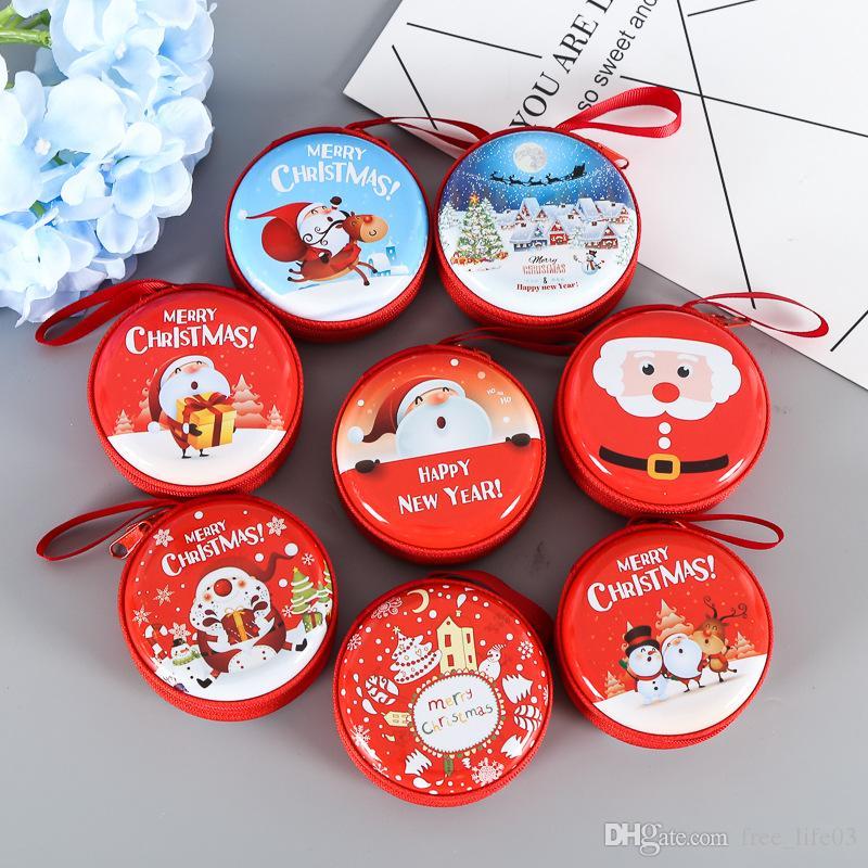 Großhandel Kostenloser Versand 1 Stück Weihnachten Runde Nette ...