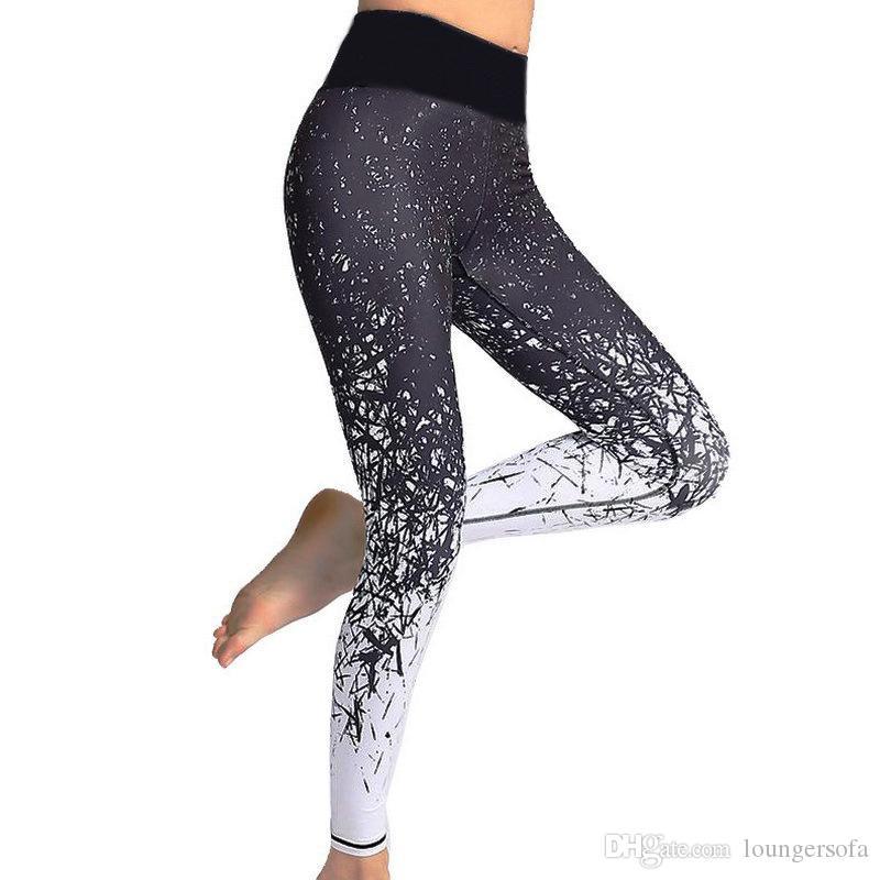 2019 Summer New Yoga Pants Women Fashion Digital Printing Running Tights  Leggings Female Brand Designer High Elasticity Sports Wear 17hy Ww From  Loungersofa ... 800149370fac