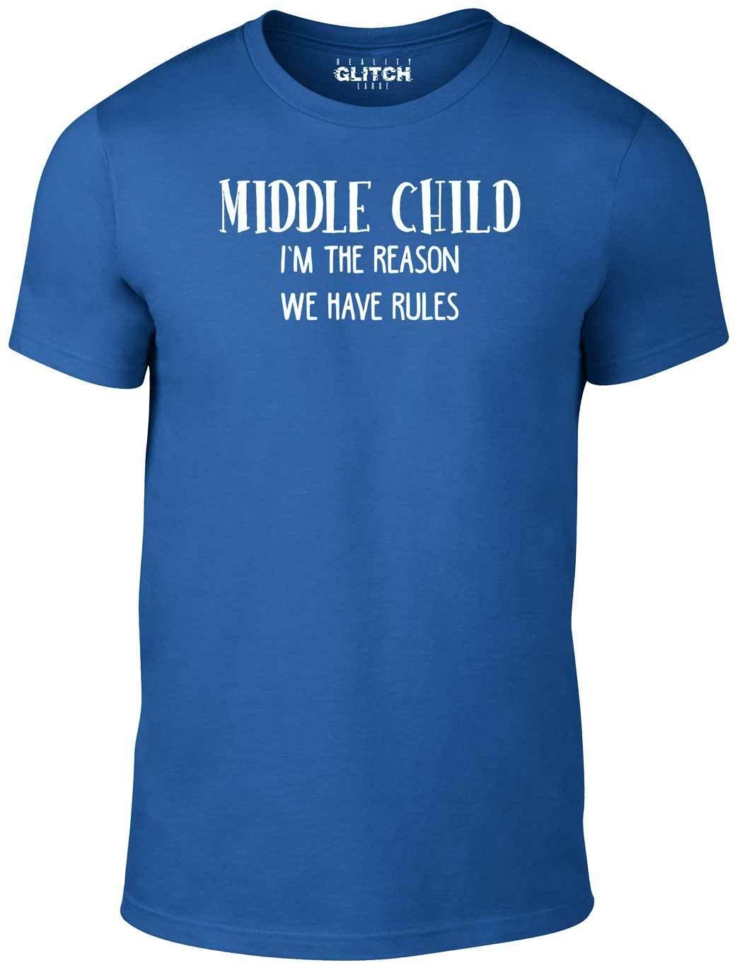 7427cccc7 Kids Middle Child T Shirt Funny Childrens T Shirt Family Rules Brother  Sister Funny Ts T Shirts Buy From Shop4ever, $11.01| DHgate.Com