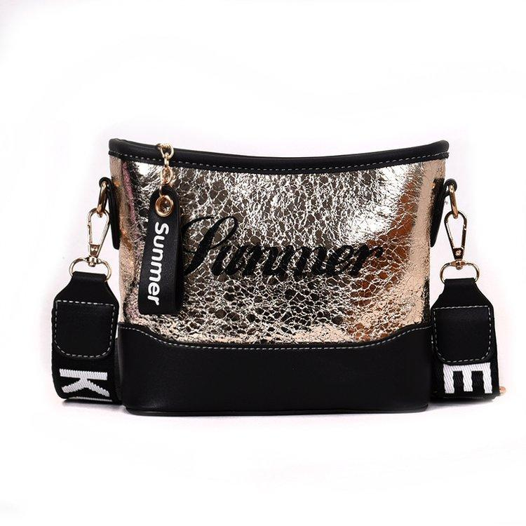 55779bb5fcac Hobo Bag Small Shoulder Bag for Women Fashion Leers Crossbody Purse Gold  Siilver Pink 1805