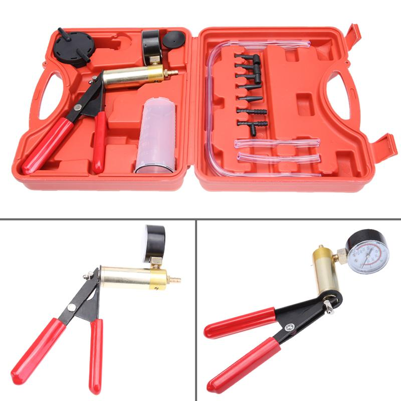 2018 embossing tools high quality car auto hand held vacuum tester 2018 embossing tools high quality car auto hand held vacuum tester and pump brake bleeder kit adaptors fluid reservoir tester kit 2 in from deniaiwo1314 solutioingenieria Choice Image