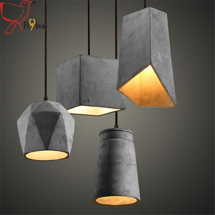Retro industrial lighting fixtures Hanging Nordic Rustic Cement Pendant Lights Kinds Natural Cement Suspension Lamp Vintage Industrial Lighting Fixtures Hanging Lamp Lamp Hanging Designer Pendant Walmart Nordic Rustic Cement Pendant Lights Kinds Natural Cement