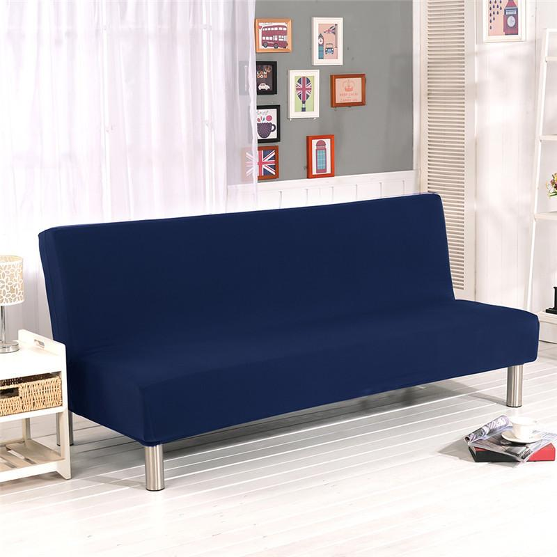2019 Elastic Slipcover Solid Color All Inclusive Folding Stretch