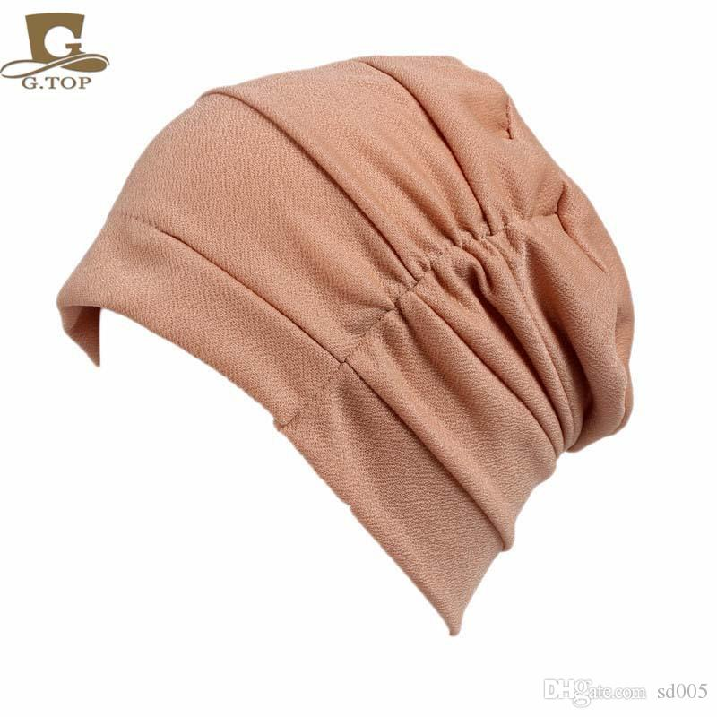 ae1a7ee8 Women Sleeping Fold Chemotherapy Hats Fashion Outdoor Travel Beach Hat Fall  Spring Originality New American Style 6 2jd Ff Knit Cap Slouch Beanie From  Sd005 ...