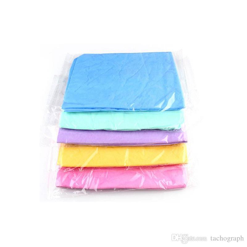 Средние мешки OPP, олени кожа полотенце, супер абсорбент, продукты по уходу за автомобилем для домашних животных, полотенце из микрофибры сухих волос полотенце.