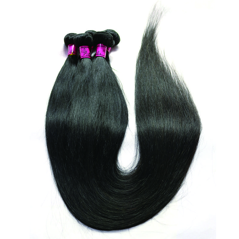 Fastyle Long Straight Brazilian Virgin Human Hair Weave 28 30 32 34 36 38 40inch Human Hair Bundles Remy Hair Extensions