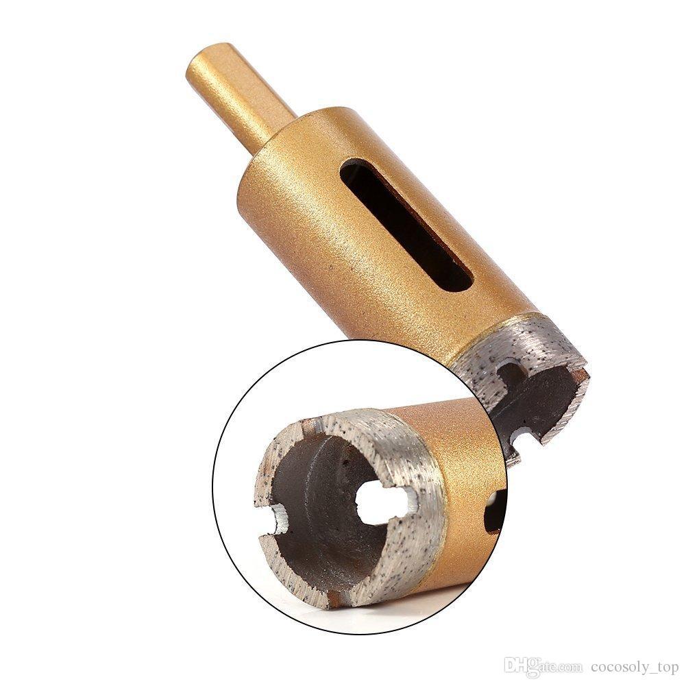 juego de brocas de diamante, 6 mm-25 mm baldosas de vidrio extractor de núcleo hueco herramientas de extracción de diamante agujero para la cerámica de cristal porcelana de mármol