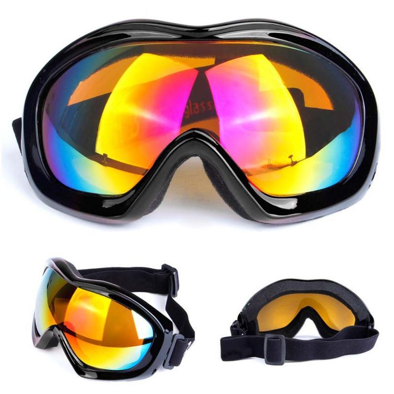 75756cf9611 Winter Cycling Snow Goggles Men Women Sports Windproof Dustproof ...