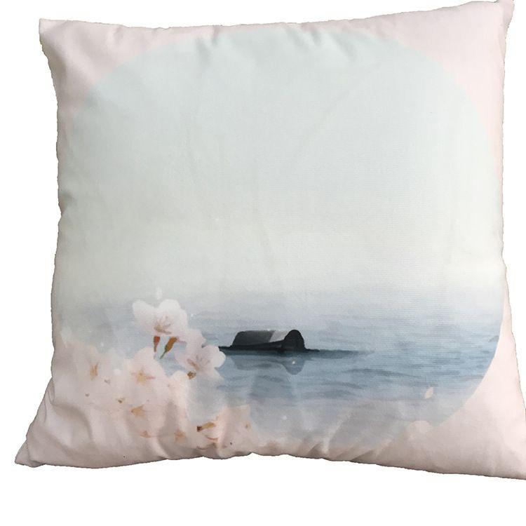 New Multicolor 6 Designs Pillowcase Hot Cotton Soft Flannel Cloth Series Pillow Case Sofa Cushion Cover Car Lumbar Pillow Cover