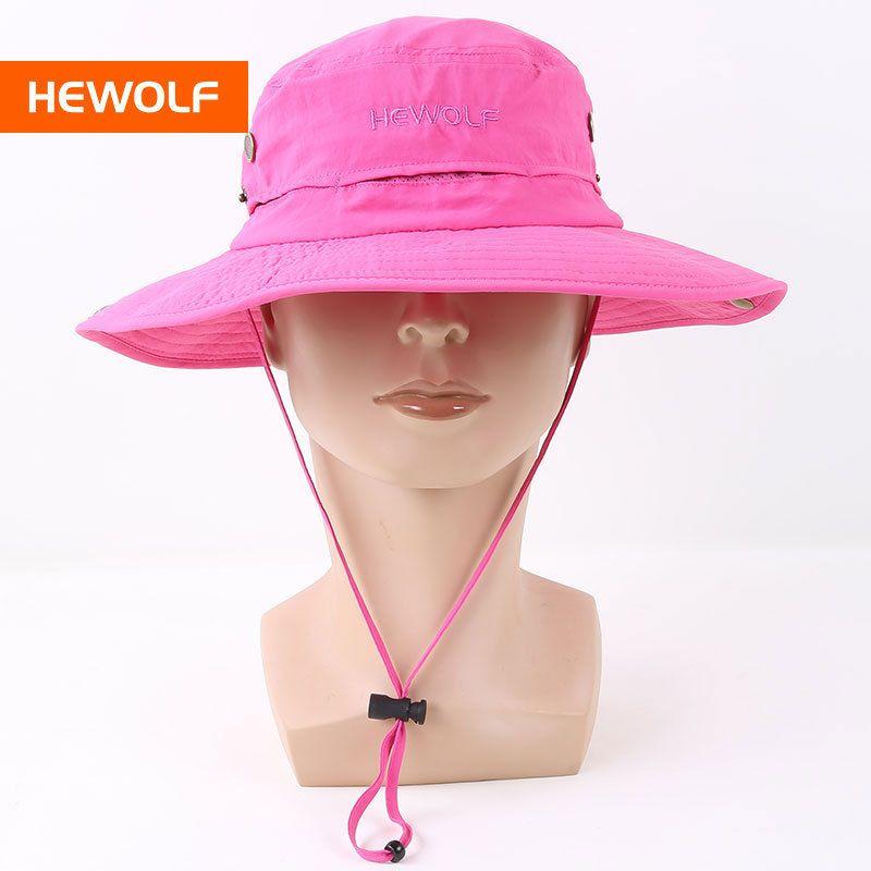 2019 New Uv Hat Women Waterproof Hat Outdoor Ladies Cap Camping Hiking Cap  From Pineappleg 58030c66fc1