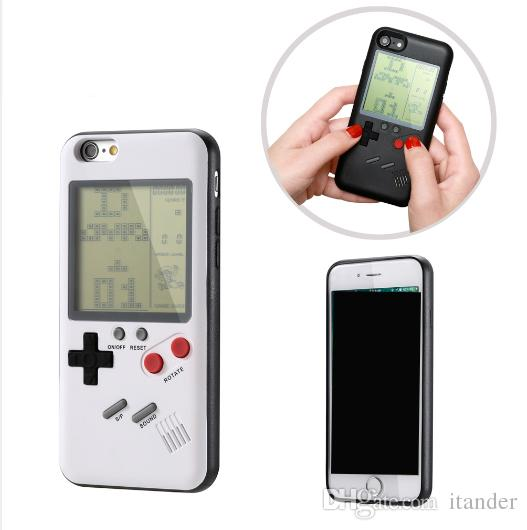 new concept 60ef1 f2b5b Cool Retro Gameboy Phone Case Cover for Apple Iphone 6 5.5 inch Fit 6s 4.7  7 8 Plus X for Game Boy Special 3D New Style Free Shipping Sale