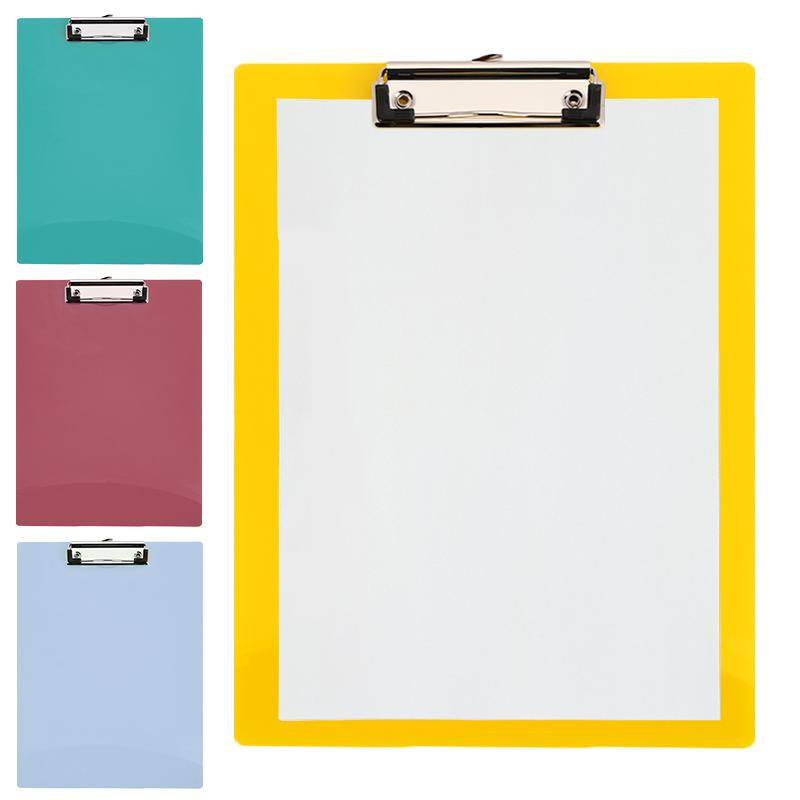 2018 a4 writing pad paper clip board office clipboard pp business