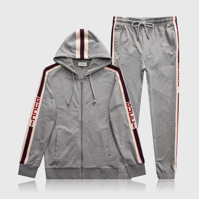 e90b32587f8 Designer Mens Tracksuit Letter Luxury Casual Suits Hoodies + Pants ...