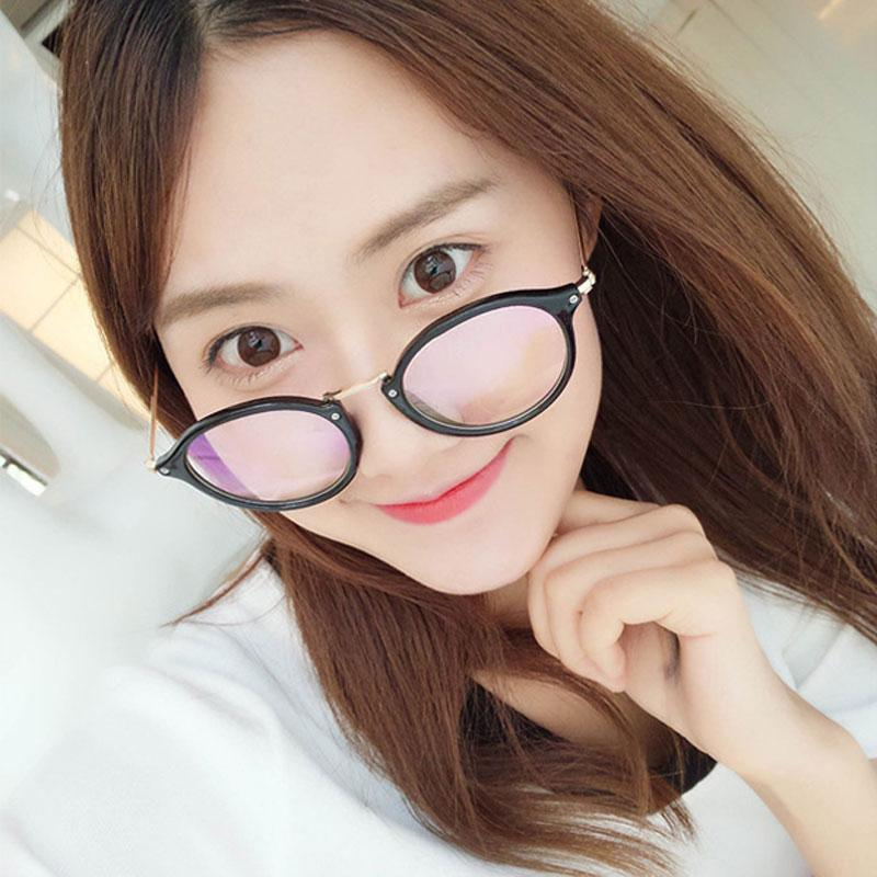 5c3b86ad02 Cute Style Vintage Glasses Women Glasses Frame Round Eyeglasses Frame  Optical Frame Glasses Oculos Femininos Gafas Smith Sunglasses Sunglasses At  Night From ...