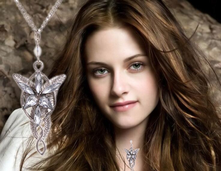 Le Seigneur Des Anneaux Collier Le Hobbit Arwen Evenstar Elfe Princesse Elf Collier Le Seigneur Des Anneaux Soirée Collier Étoile Or Argent D0241