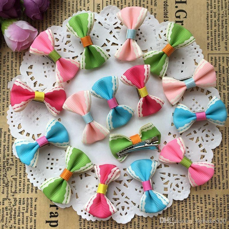 729752618659 1.4 Cute Colorful Small Bow Kids Baby Girls Hair Clips Hairpins Barrettes Hair  Accessories Gifts Hair Accessories Bridal Best Hair Accessories From ...