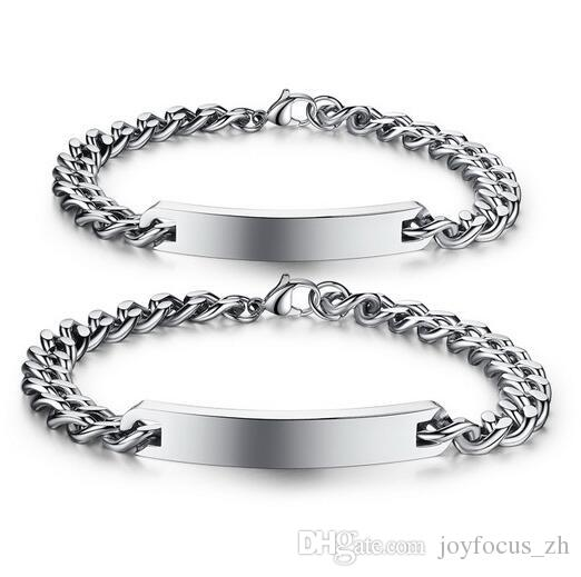 3d4146d8f09c 2019 Classic Design Bracelet Anniversary Gift Stainless Steel Jewelry  Couple Bracelets Bangle For Lover Men Women From Joyfocus zh