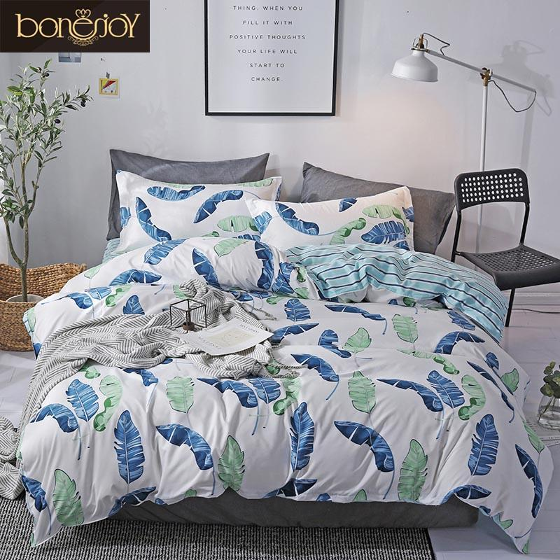 Furniture Helpful Bedding Set Duvet Cover Bed Sheet Pillowcase Bedlinen Bedclothes Flat Sheet