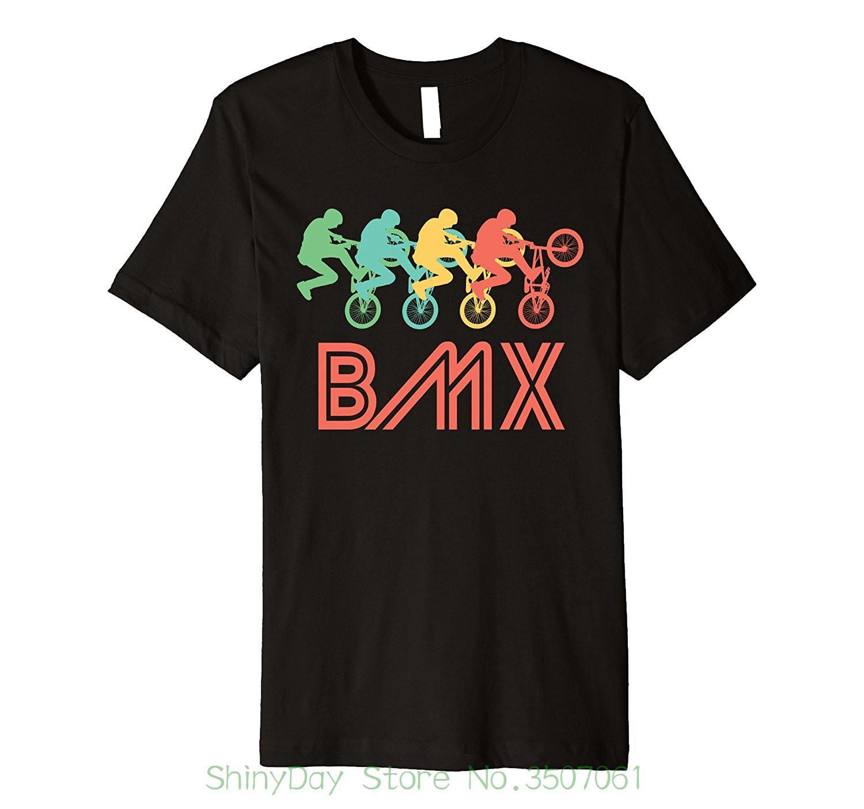 17dd10172 Summer Short Sleeve Shirts Tops M~2xl Big Size Cotton Tees Bmx Rider Retro Pop  Art Bmx Graphic T Shirt Tee Shirt Of The Day Link Shirts From  Shinydaystore, ...