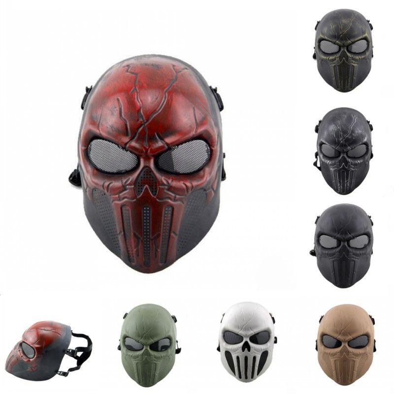 Acheter Hanzi Masks Punisher Masque Oreille Protection Plein Visage