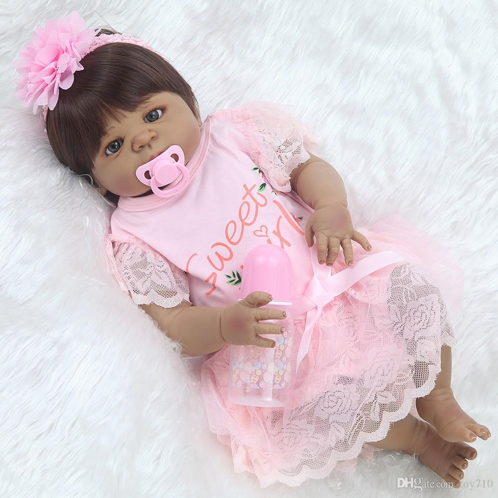 2pcs Baby-mädchen-beweglicher Pflege