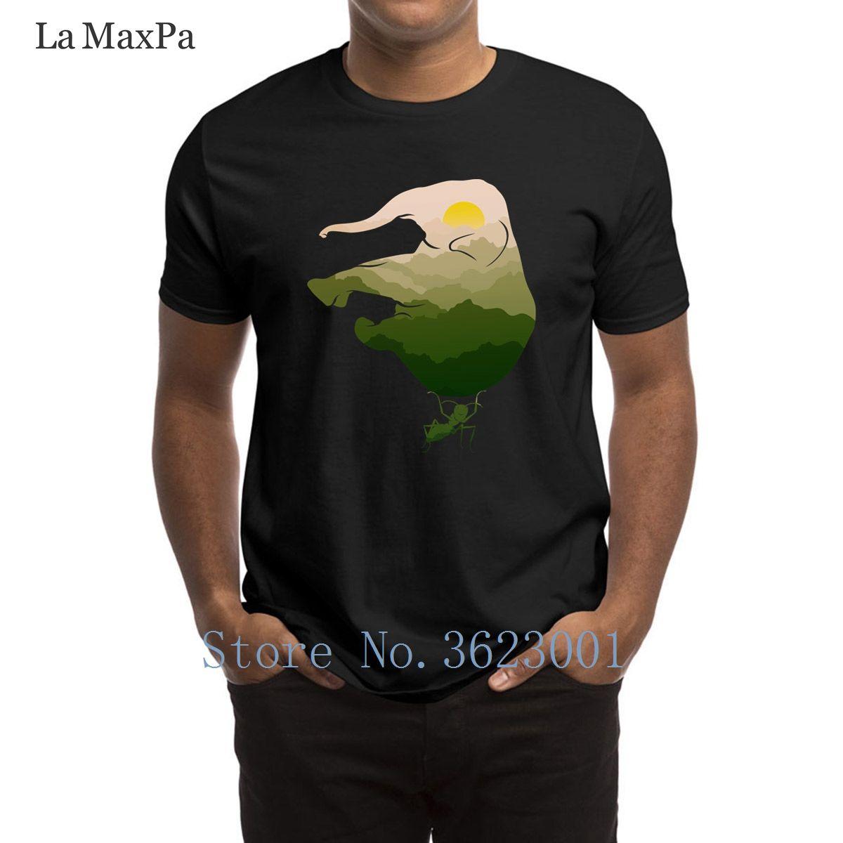 49aaee0264e1 ... printing novelty t shirt save elephant ant t shirt for men hilarious ...