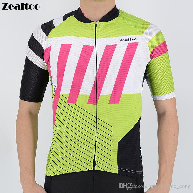 ade563321 Zealtoo Cycling Jersey 2018 Short Sleeve Men Cycling Clothing Breathable Mtb  Bike Jersey Bicycle Clothes Ropa Maillot Ciclismo Cycling Cycling Jerseys  ...