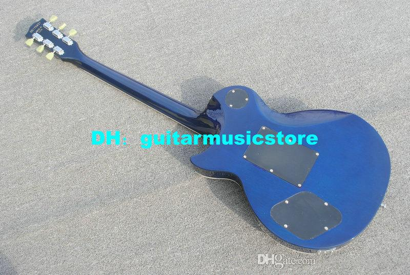 factory direct sales Musical instruments blue electric guitar musical instruments shop