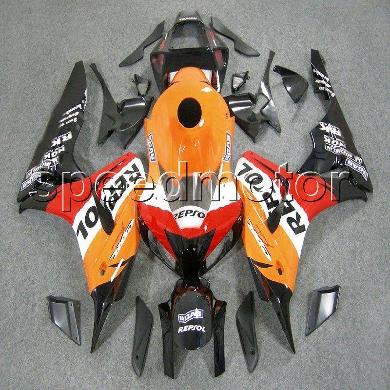 Motorcycle Parts Orange Repsol Fairing For Honda Cbr1000rr Cbr 1000