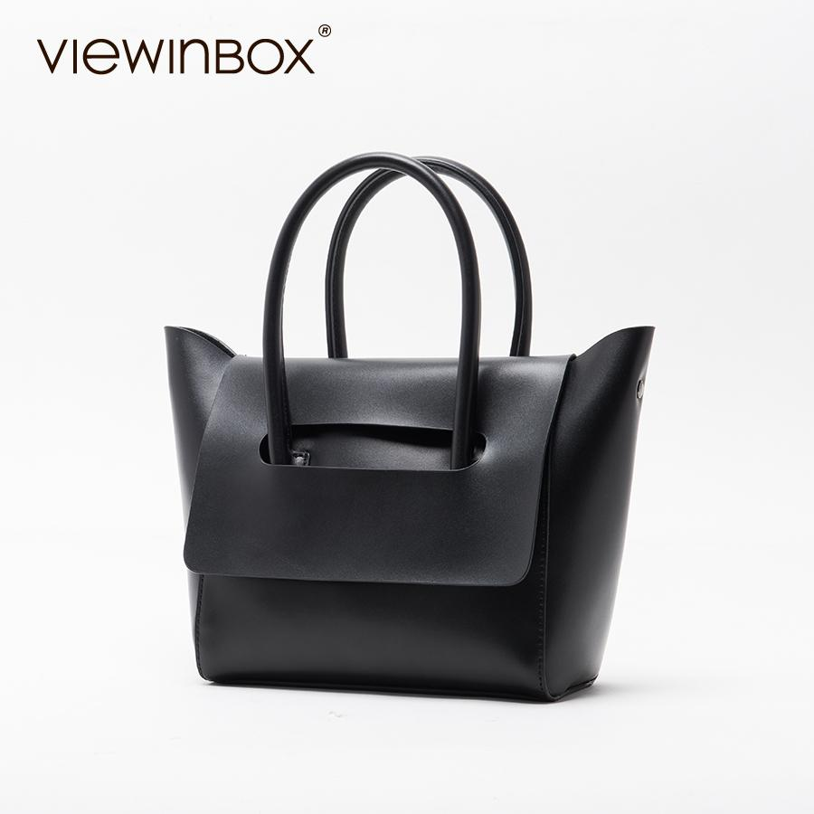 Viewinbox Mini Tote Bag Women S Famous Brand Soft Cattle Leather Small  Handbags Casual Style Crossbody Messenger Bag Weekend Bags Luxury Bags From  ... d7b12a9920194