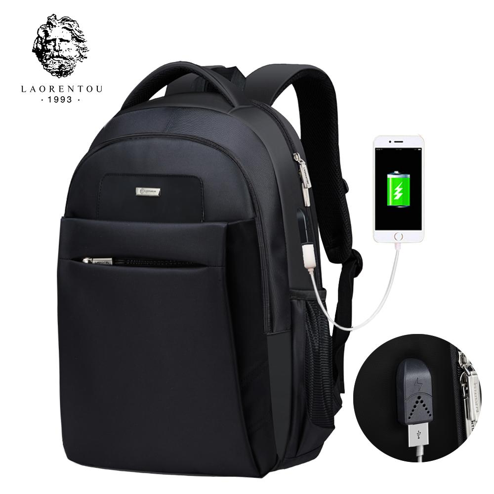 f14af07cf0 LAORENTOU Men Backpack Laptop Travel Bag Multifunction Unisex School Bag  Canvas School Backpacks For Teenagers Business BackpackX82401 Dakine Backpack  Best ...