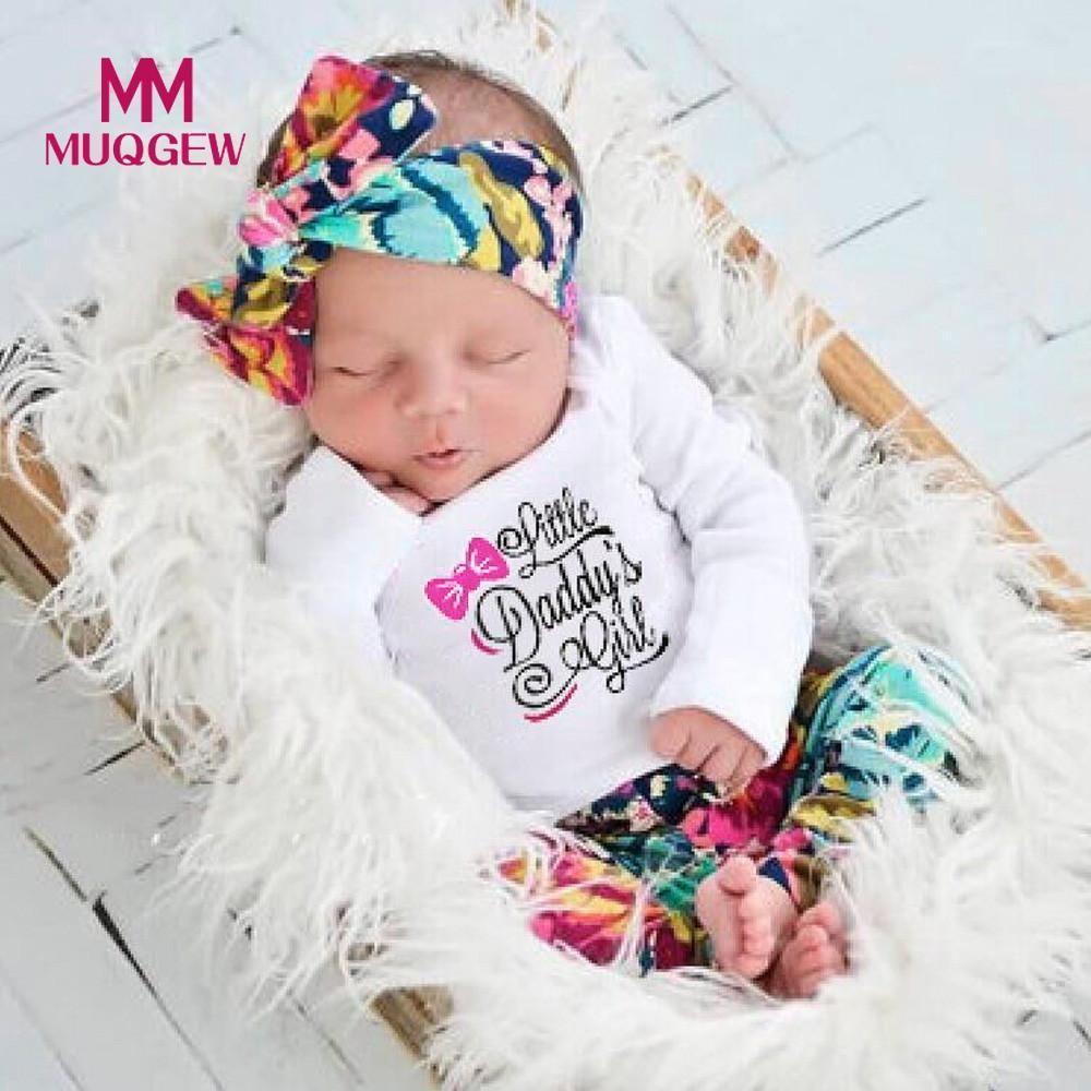 d959697b0 2019 Fashion Newborn Infant Baby Girl Boy Letter Print Tops+Pants ...