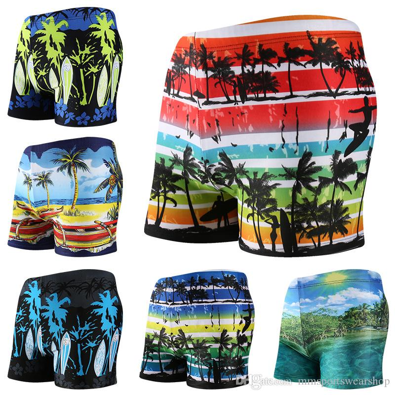 5b3a02e6991d2 Fashion Swimwear Men's Boxer Briefs Swimming Swim Shorts Trunks ...