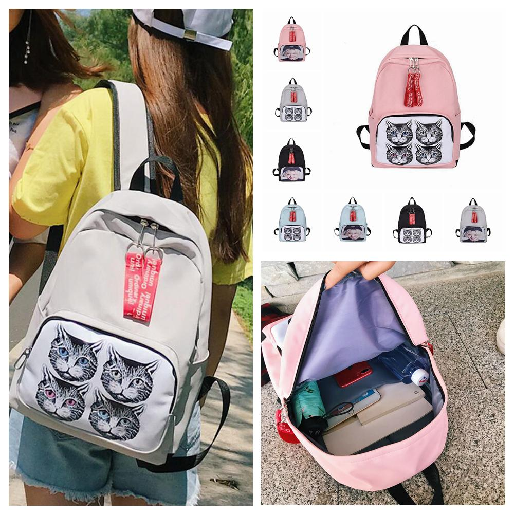 ce6b952712 8styles Women Ins Cartoon Cat Backpacks Printed School Bag Outdoor Fashion  Travel Fashion Casual Bag FFA657 Cat Backpacks Cartoon Printed Backpacks  Printed ...