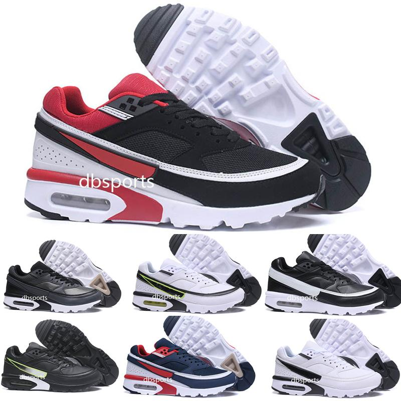 new product d5625 aa8f0 Acheter 2018 Nike AIR Max 91 Premium BW Hommes Femmes Chaussures De Course Air  BW 91 Ultra Respirant Sport En Plein Air Marche Formateurs US 7 12 De   65.99 ...