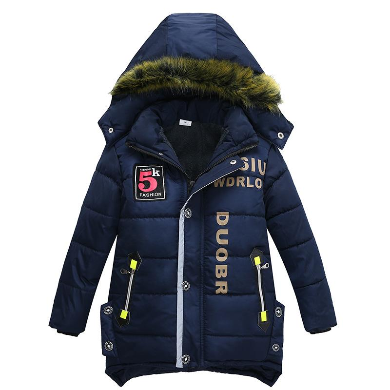 ade824c22 3 6 Year Children S Clothing Children S Coat Winter Style Letter ...