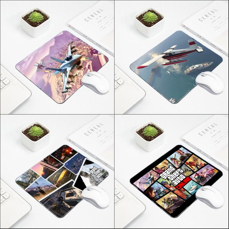 Congsipad Hot Game Mousepad Grand Theft Auto GTA5 Pattern Printed Table  Mouse Pad Mat for Decorate Computer Desktop Game Player