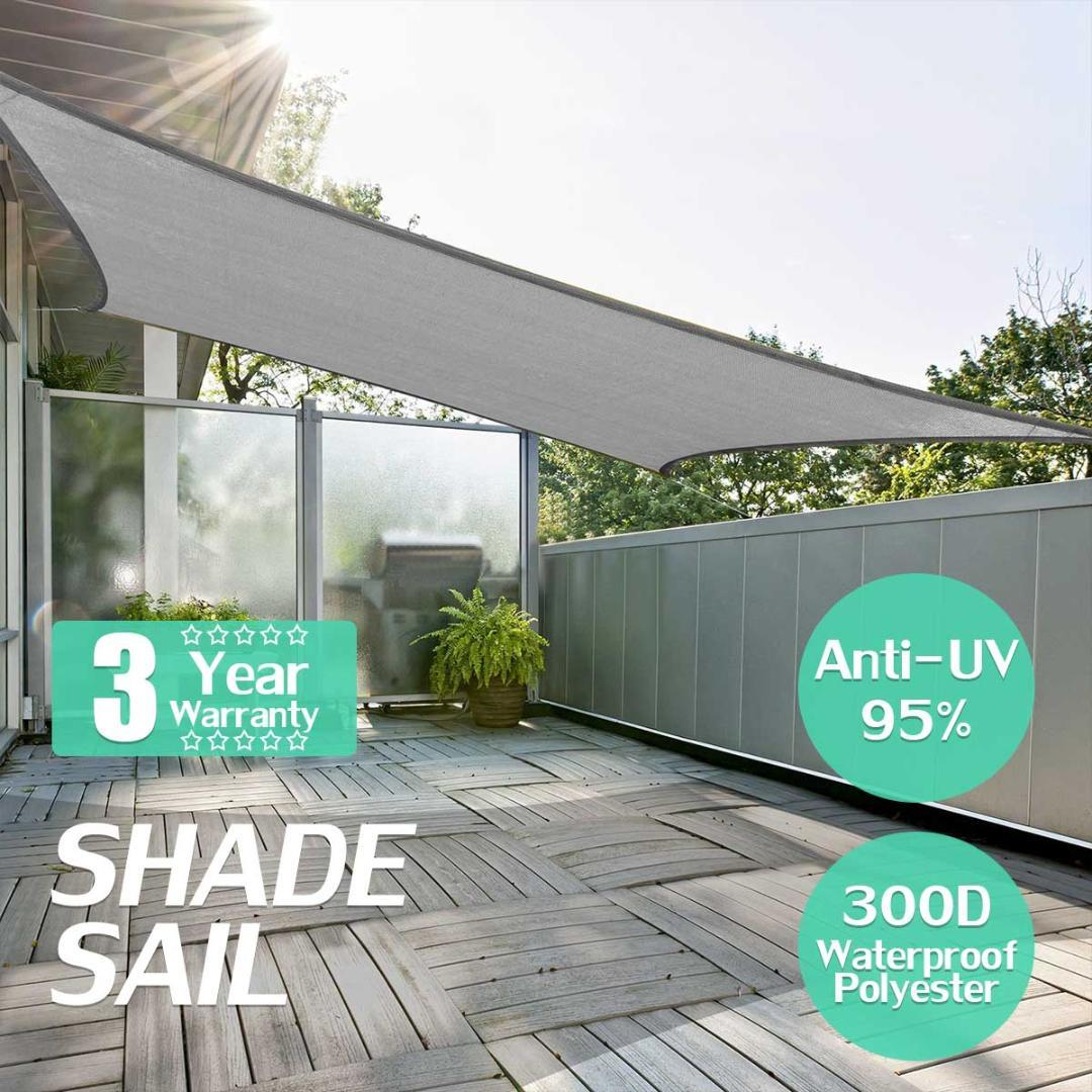 Grey square 3x3 3x5m retractable sun shade shelter 280gsm hdpe farbic garden awning canopy sunshade folding tent car tents from cookki 38 11 dhgate com