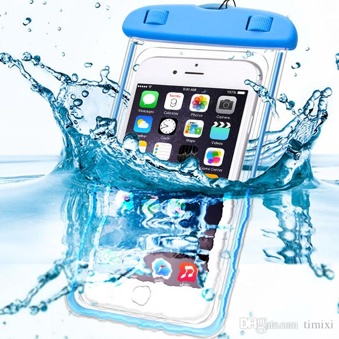 Phone Bags & Cases Luminous Waterproof Bag Underwater Pouch Phone Case For Iphone Samsung Galaxy Huawei Xiaomi Redmi Cell Phone Universal All Model
