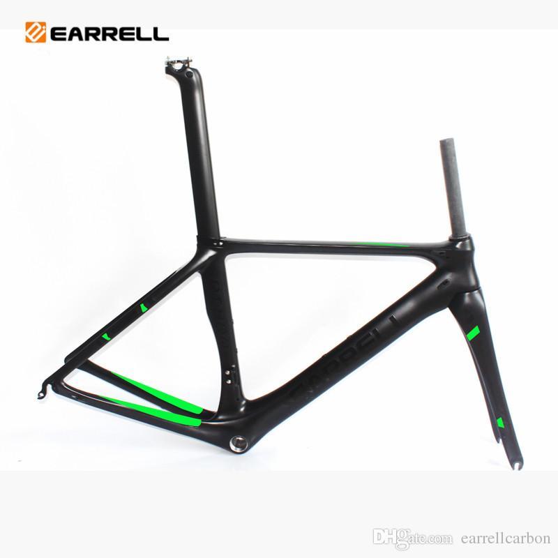 Earrell Carbon Road Bike Frame Brompton Road Frame Fixed Gear ...