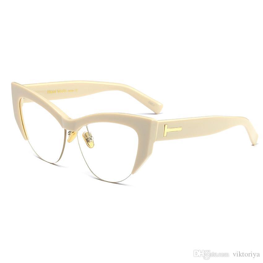 0ed3327b61f Fashion Design Women Glasses Frame Classic Sexy Cat Eyeglasses Frame ...